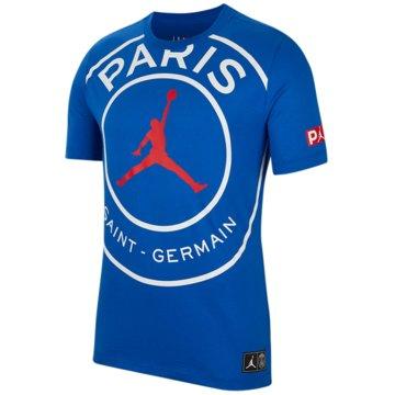 Jordan T-ShirtsPSG SS Logo Tee blau