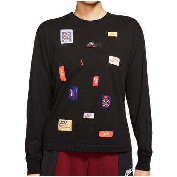 Nike SweatshirtsSportswear Icon Clash Long-Sleeve Top Women schwarz