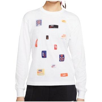 Nike SweatshirtsSportswear Icon Clash Long-Sleeve Top Women weiß