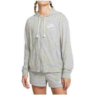 Nike SweatjackenGym Vntage FZ Hoodie Women grau