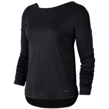 Nike SweatshirtsDry Elastica Long-Sleeve Training Top Women schwarz