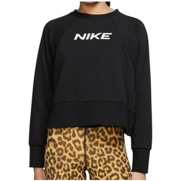 Nike SweatshirtsDry Get Fit Training Top Women schwarz