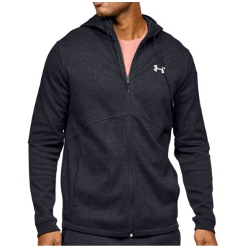 Under Armour SweatshirtsDouble Knit FZ Hoodie schwarz