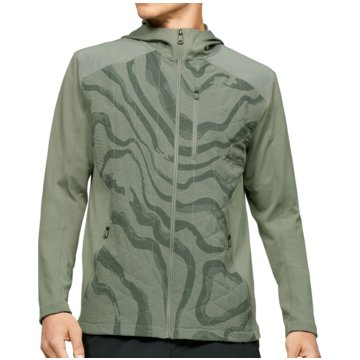Under Armour TrainingsjackenColdGear Reactor Hybrid Lite Printed Jacket grün