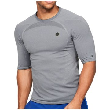 Under Armour FunktionsshirtsRush Seamless Compression SS Tee grau