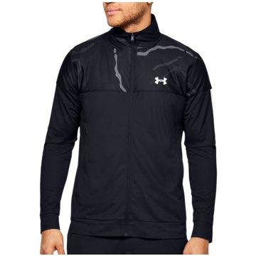 Under Armour SweatshirtsSportstyle Printed Track Jacket schwarz