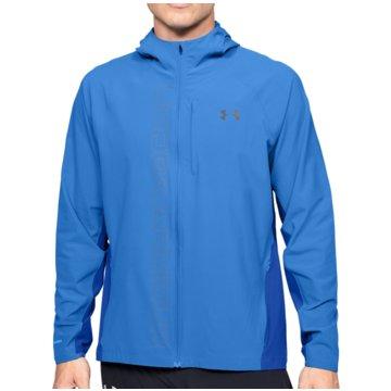 Under Armour LaufjackenQualifier Outrun The Storm Jacket blau