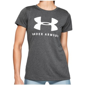 Under Armour T-ShirtsTech Logo Tee Women grau