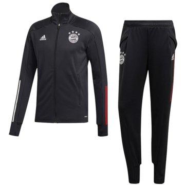 adidas PräsentationsanzügeFC Bayern Tracksuit 2020/21 schwarz