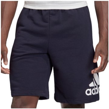 adidas kurze SporthosenLOUNGEWEAR MUST HAVES BADGE OF SPORT SHORTS - FM6349 blau
