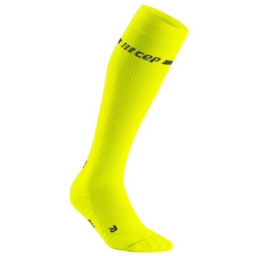CEP KniestrümpfeNeon Compression Socks gelb