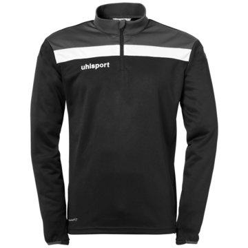 Uhlsport SweatshirtsOFFENSE 23 1/4 ZIP TOP - 1002212 schwarz