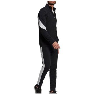 adidas Trainingsanzüge SPORTSWEAR COTTON TRAININGSANZUG - GM3826 schwarz