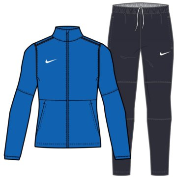 Nike TrainingsanzügeW NK DF PARK20 TRKSUIT K - CW3618-463 blau