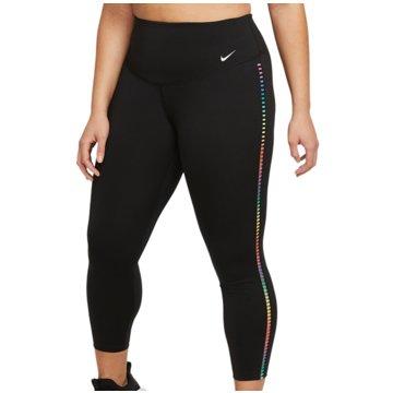 Nike TightsONE RAINBOW LADDER - DA0844-010 schwarz