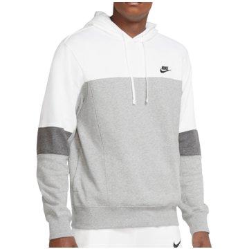 Nike HoodiesSportswear PO FT Hoodie grau