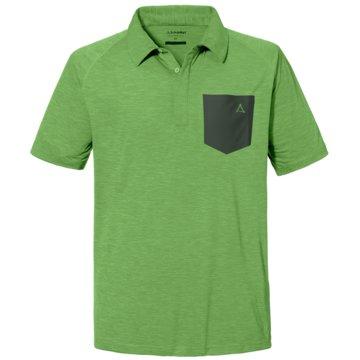 Schöffel PoloshirtsPOLO SHIRT HOCHECK M - 2023175 23197 grün