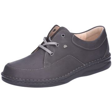 FinnComfort Komfort Schnürschuh grau