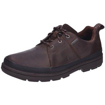 Clarks Komfort SchnürschuhRushwayLaceGTX braun