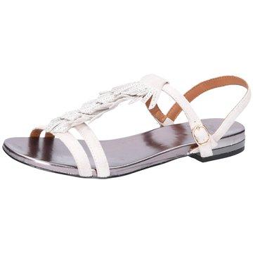 La Femme Plus Sandalette weiß