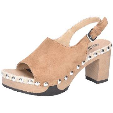 Softclox Komfort Sandale braun