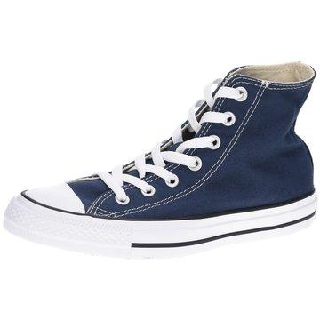 Converse Sneaker HighHoch Schnürrer blau