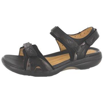 Clarks Komfort Sandale schwarz