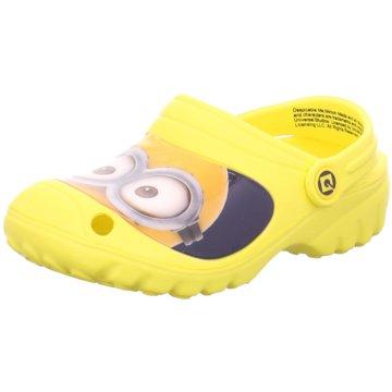 Minions Offene Schuhe gelb