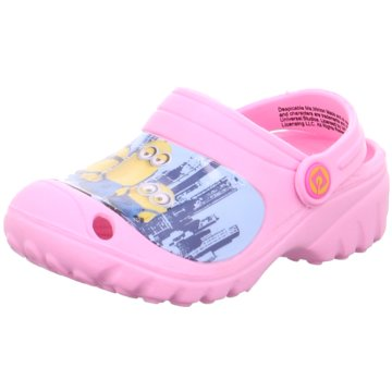 Minions Clog rosa