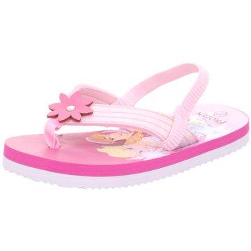 Disney Offene Schuhe rosa