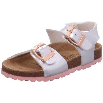 Indigo Offene Schuhe silber