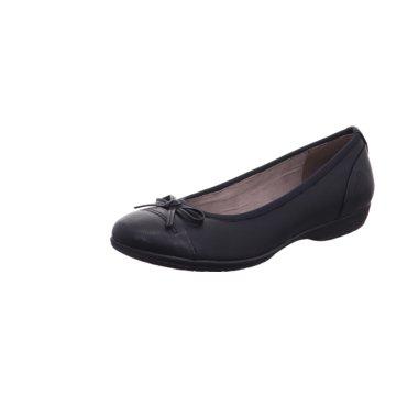 a+w Klassischer Ballerina schwarz