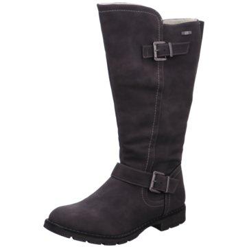 Idana Klassischer Stiefel grau