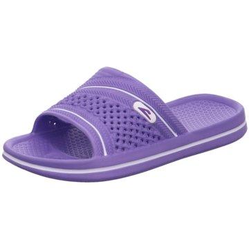 Hengst Footwear Badelatsche lila