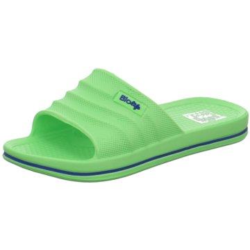 Schuhwerk Badelatsche grün