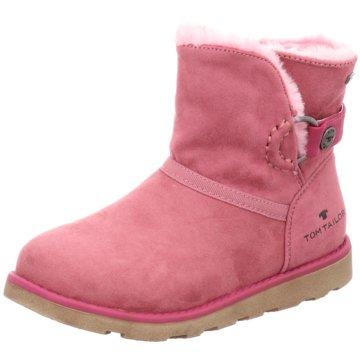 Tom Tailor Halbhoher Stiefel rosa