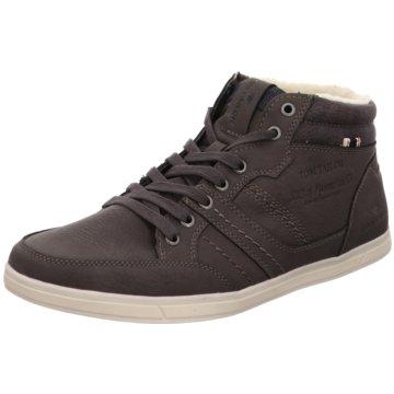 Tom Tailor Sneaker High grau