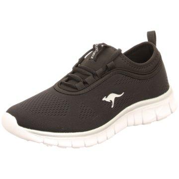 KangaROOS Sportlicher Schnürschuh schwarz
