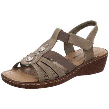 Supremo Komfort Sandale braun