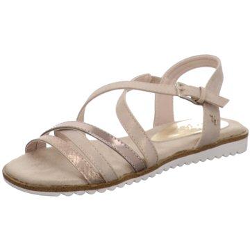 Supremo Sandale rot