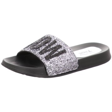 Tom Tailor Pool Slides silber