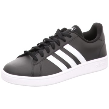 adidas - GRAND COURT BASE,CBLACK/FTWWHT/FTWW -