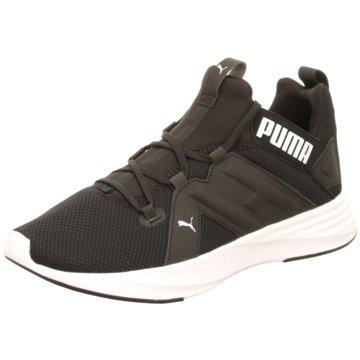 Puma Trainingsschuhe schwarz