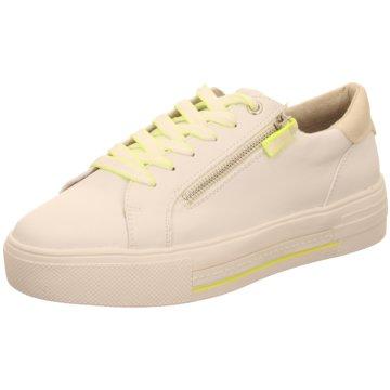 Supremo Plateau Sneaker weiß