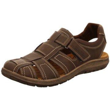 Supremo Komfort Schuh braun