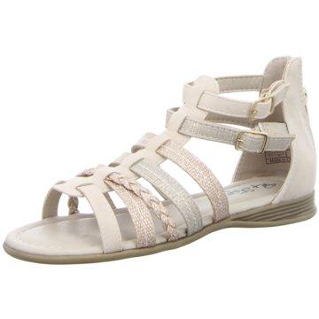 Pep Step Offene Schuhe silber