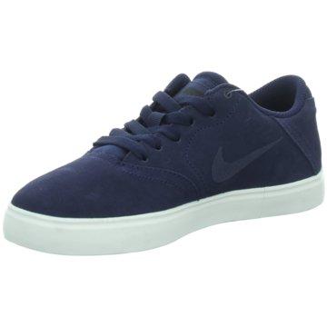 Nike Sneaker LowNike SB Check Suede (GS) blau