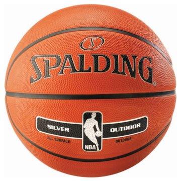 Spalding BasketbälleNBA SILVER OUTDOOR SZ.6 - 30015920016 orange
