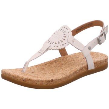 UGG Australia Komfort Sandale weiß