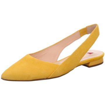 Högl Top Trends BallerinasSlingback gelb
